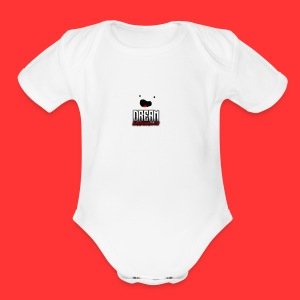 Marshmallow Kids - Short Sleeve Baby Bodysuit
