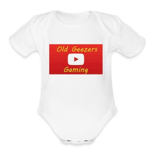 Old Geezers Gaming - Organic Short Sleeve Baby Bodysuit