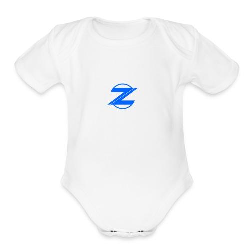 zeus Appeal 1st shirt - Organic Short Sleeve Baby Bodysuit
