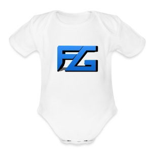 Freeze Gaming Logo - Short Sleeve Baby Bodysuit