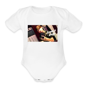 IMG 1810 - Short Sleeve Baby Bodysuit