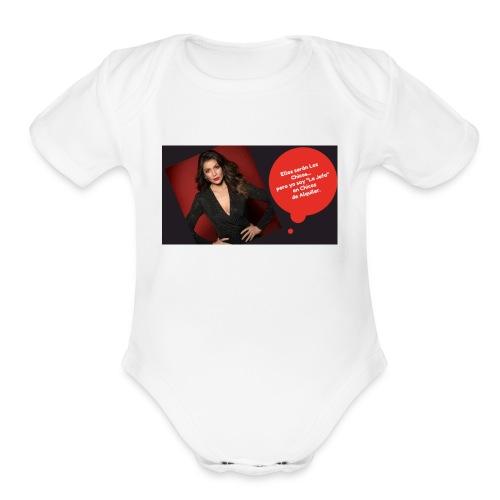La Jefa - Organic Short Sleeve Baby Bodysuit