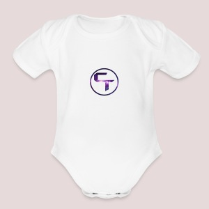CamTremblay Official Logo - Short Sleeve Baby Bodysuit