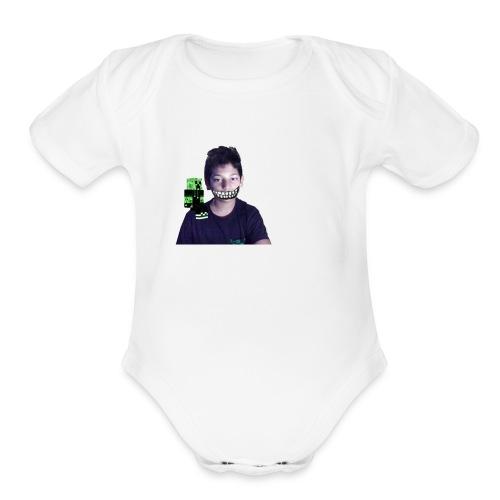 halloween merch - Organic Short Sleeve Baby Bodysuit