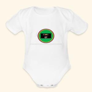 30Min Logo - Short Sleeve Baby Bodysuit