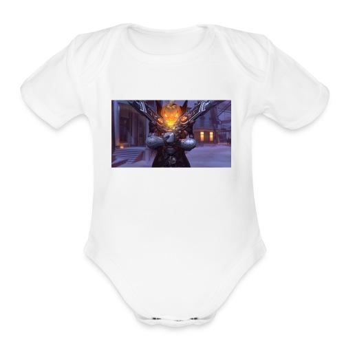 ReaperDude Halloween - Organic Short Sleeve Baby Bodysuit