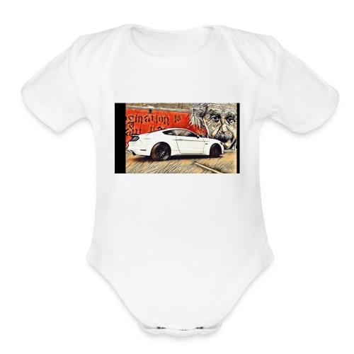 S550mustangGT - Organic Short Sleeve Baby Bodysuit