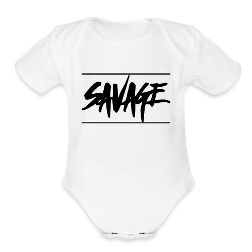 IMG 2076 - Organic Short Sleeve Baby Bodysuit