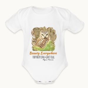 Beauty Everywhere Carolyn Sandstrom - Short Sleeve Baby Bodysuit