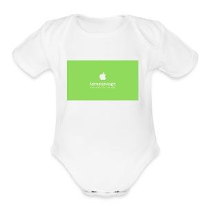Iam Savage - Short Sleeve Baby Bodysuit