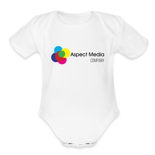 Aspect Media Company - Organic Short Sleeve Baby Bodysuit