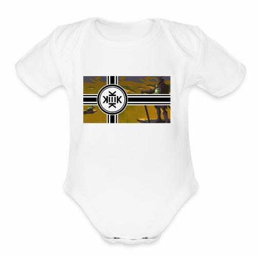 #FreeKekistan - Organic Short Sleeve Baby Bodysuit