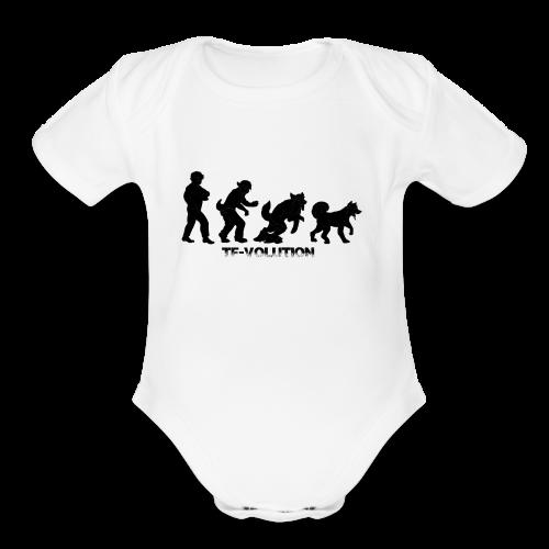 TF-Volution - Organic Short Sleeve Baby Bodysuit