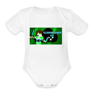 CloudGamer's Shirt (Baby) - Short Sleeve Baby Bodysuit