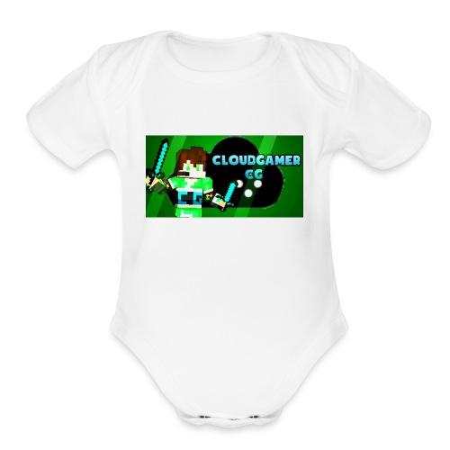 CloudGamer's Shirt (Baby) - Organic Short Sleeve Baby Bodysuit