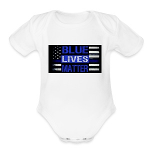 blue-lives-matter-membership-1-1024x538 - Short Sleeve Baby Bodysuit