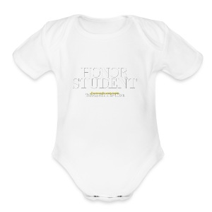 Honor Student Series by Teresa Mummert - Short Sleeve Baby Bodysuit
