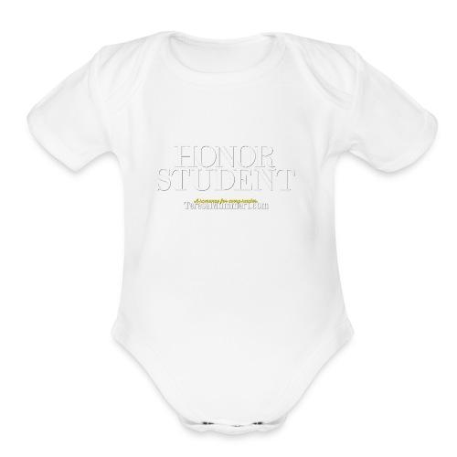 Honor Student Series by Teresa Mummert - Organic Short Sleeve Baby Bodysuit