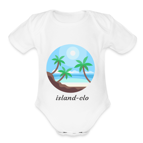 Island clothing - Organic Short Sleeve Baby Bodysuit