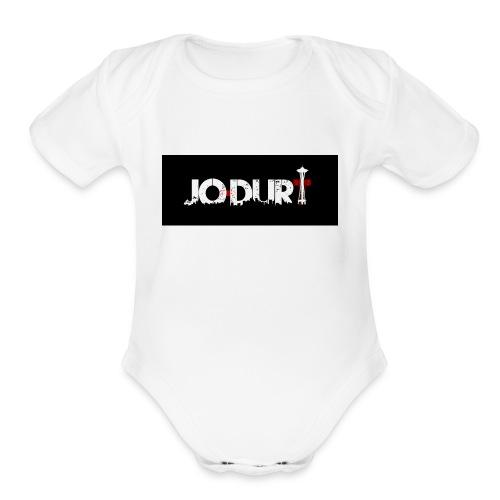 JoDurt - Organic Short Sleeve Baby Bodysuit