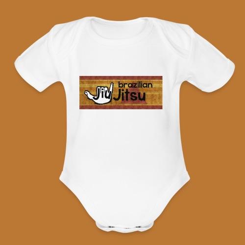 Hang Loose Jiu Jitsu - Organic Short Sleeve Baby Bodysuit