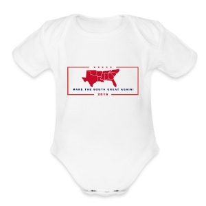 Make the South Great Again! - Short Sleeve Baby Bodysuit