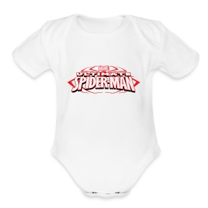 T-shirt with spiderman style - Short Sleeve Baby Bodysuit
