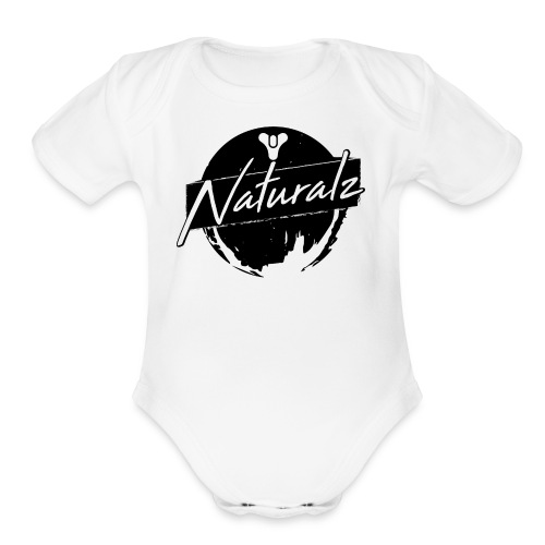 DestinyNaturalz 01 - Organic Short Sleeve Baby Bodysuit