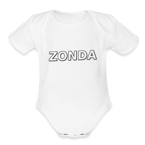 The Basic Zonda look - Organic Short Sleeve Baby Bodysuit