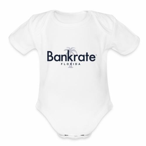 Bankrate - Organic Short Sleeve Baby Bodysuit