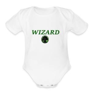 Forest Wizard - Short Sleeve Baby Bodysuit