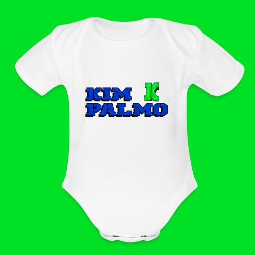 KimPalmo - Organic Short Sleeve Baby Bodysuit