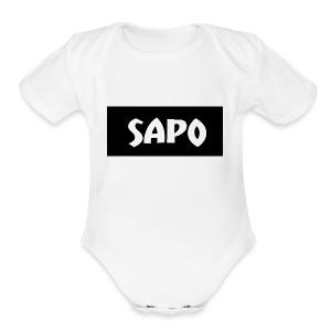 SAPOSHIRT - Short Sleeve Baby Bodysuit