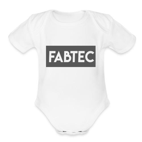 NEW FABTEC SHIRT - Organic Short Sleeve Baby Bodysuit
