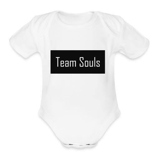 Team Souls - Organic Short Sleeve Baby Bodysuit