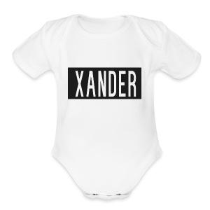 XanderApperal - Short Sleeve Baby Bodysuit