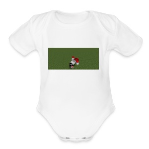 I don't knnow t - Short Sleeve Baby Bodysuit