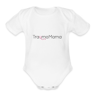 TraumaMama - Color - Short Sleeve Baby Bodysuit