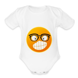 EMOTION - Short Sleeve Baby Bodysuit