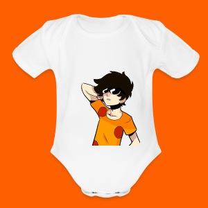 La camiseta AMBERK - Short Sleeve Baby Bodysuit