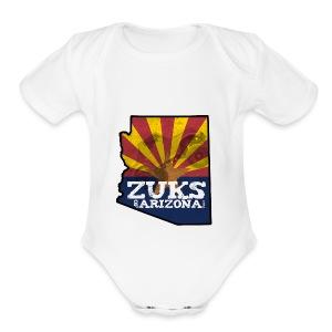 Zuks of Arizona Official Logo - Short Sleeve Baby Bodysuit