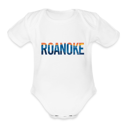Roanoke Pride - Organic Short Sleeve Baby Bodysuit