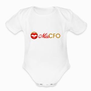 MissCFO Tee - Short Sleeve Baby Bodysuit
