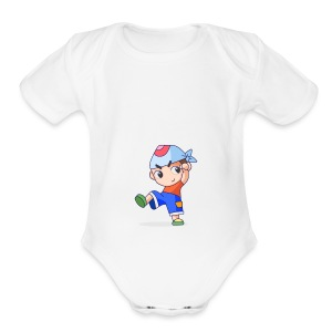 Yay! - Short Sleeve Baby Bodysuit
