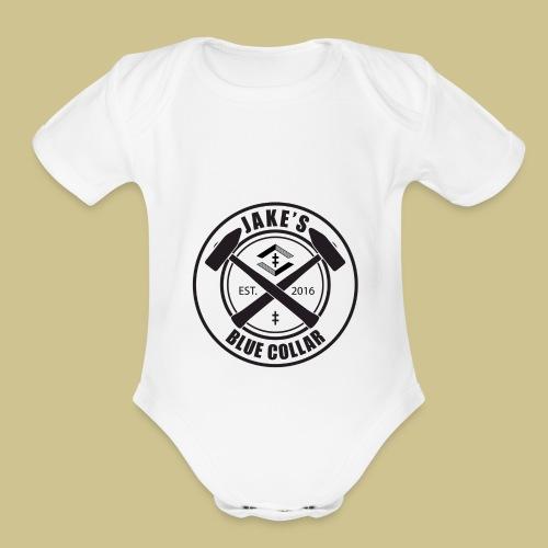 JakesBlueCollar - Organic Short Sleeve Baby Bodysuit