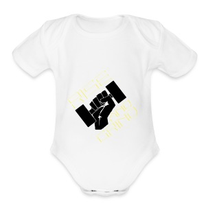 RISE AND GRIND - Short Sleeve Baby Bodysuit