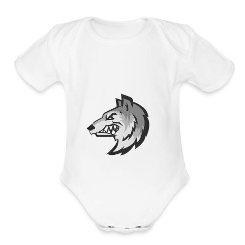 Enivix Logo - Organic Short Sleeve Baby Bodysuit