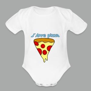 I love pizza - Cache-couche à manches courtes