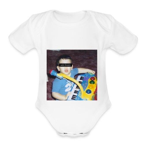 childhood - Organic Short Sleeve Baby Bodysuit
