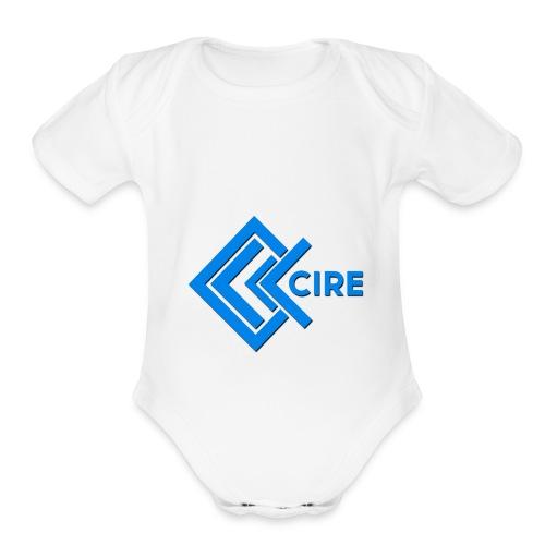 Cire Apparel Clothing Design - Organic Short Sleeve Baby Bodysuit